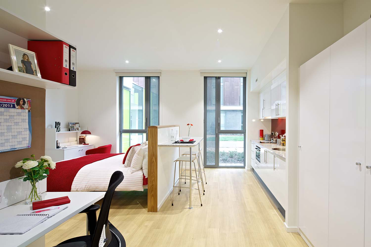 Postgraduate accommodation at GradPad Wood Lane Studios in White City
