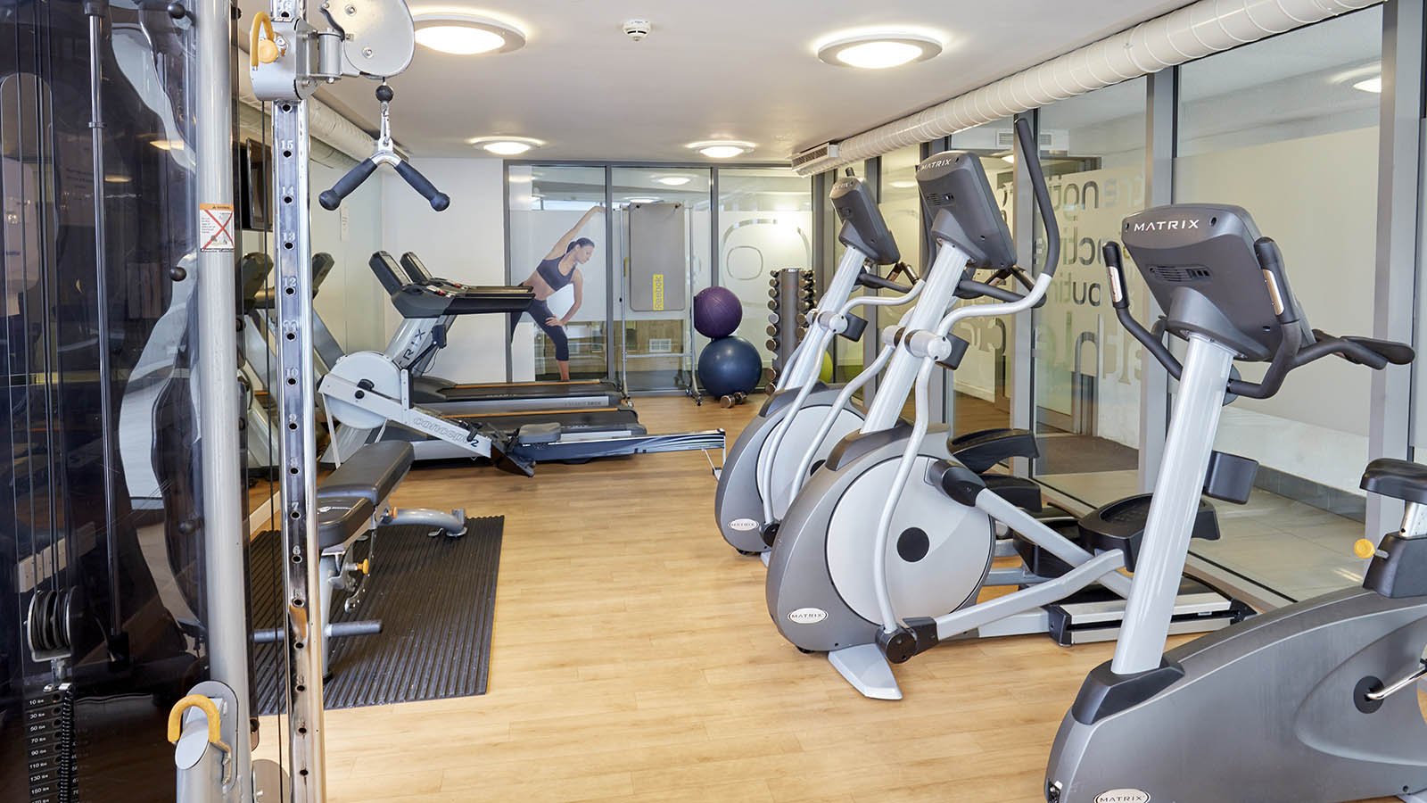 Free fitness gym available at all GradPad London properties